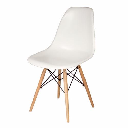 mesa eames cristal 80cm + 4 sillas - by arei design!!
