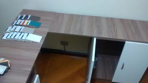 mesa em l escritório