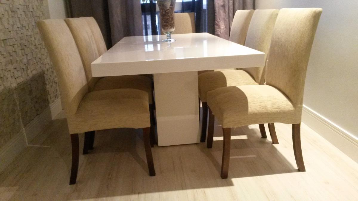 Mesa em resina branca base central tampo reto x for Mesas de jardin de resina