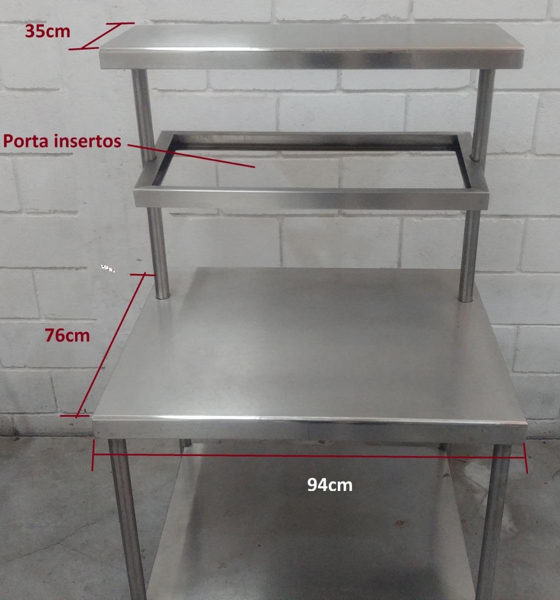 Mesa En Acero Inoxidable Para Cocina Industrial - $ 3,500.00 en ...
