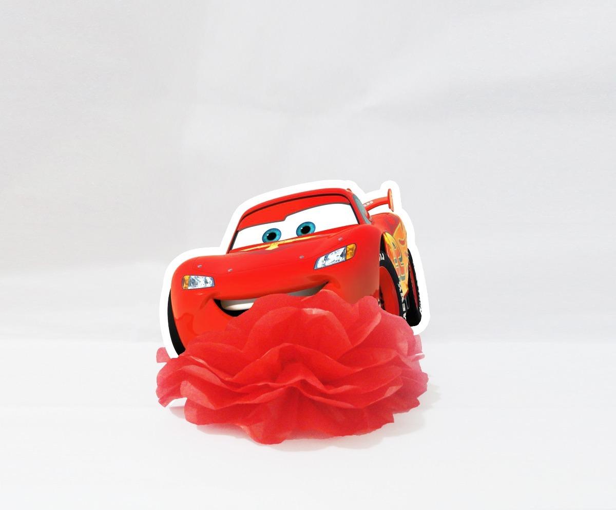 Centro De Mesa Enfeite Festa Carros Disney Relampago Mcqueen R 7