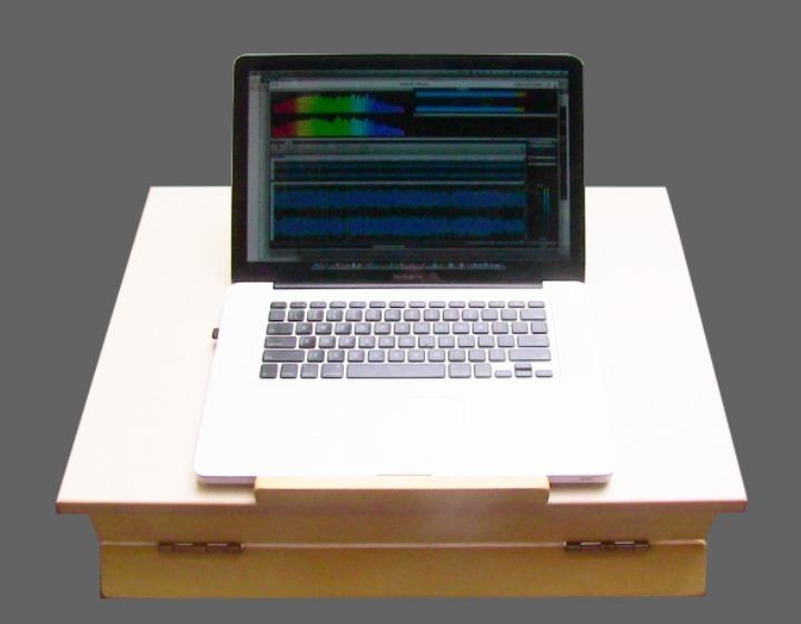 mesa ergonomica portatil para laptop tablet audio dise o