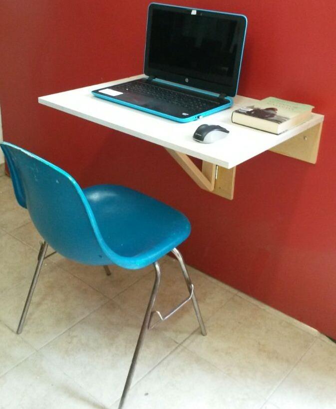 Mesa Escritorio Abatible De Pared Oficina,cocina.
