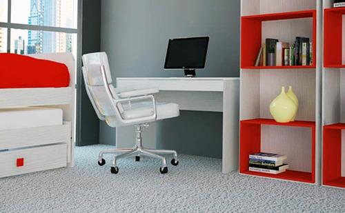 mesa escritorio computación / pc 720 mosconi 120x60x77 cm.