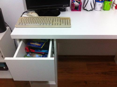 mesa escritorio novissima!! material de primeira linha!!