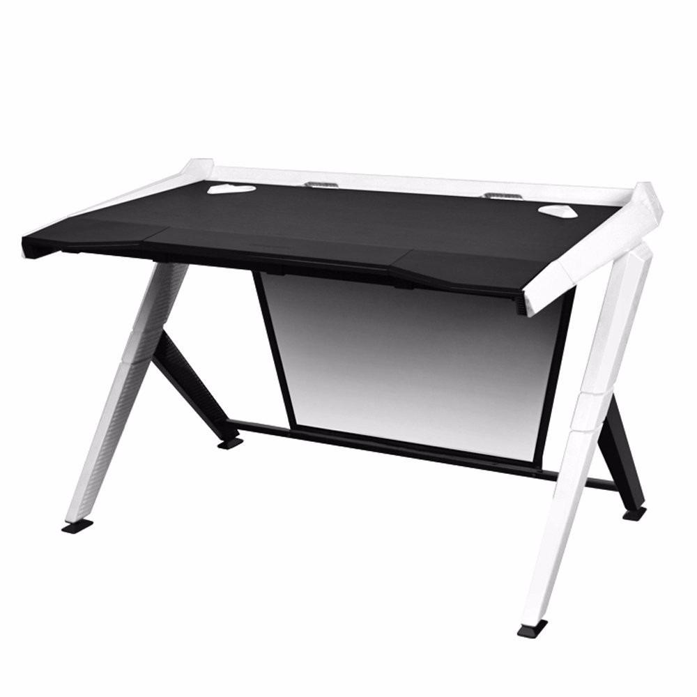 Mesa escritorio oficina gamer dx racer blanca 16 799 - Mesa de escritorio blanca ...