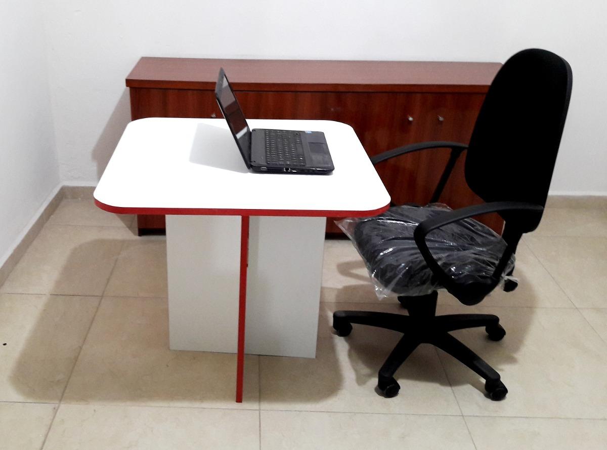 Mesa Escritorio Oficina Comedor 75x75 Blanca Preg X Mayoreo ...