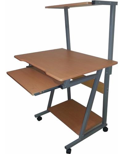 mesa escritorio para computador de tres niveles cpu iva