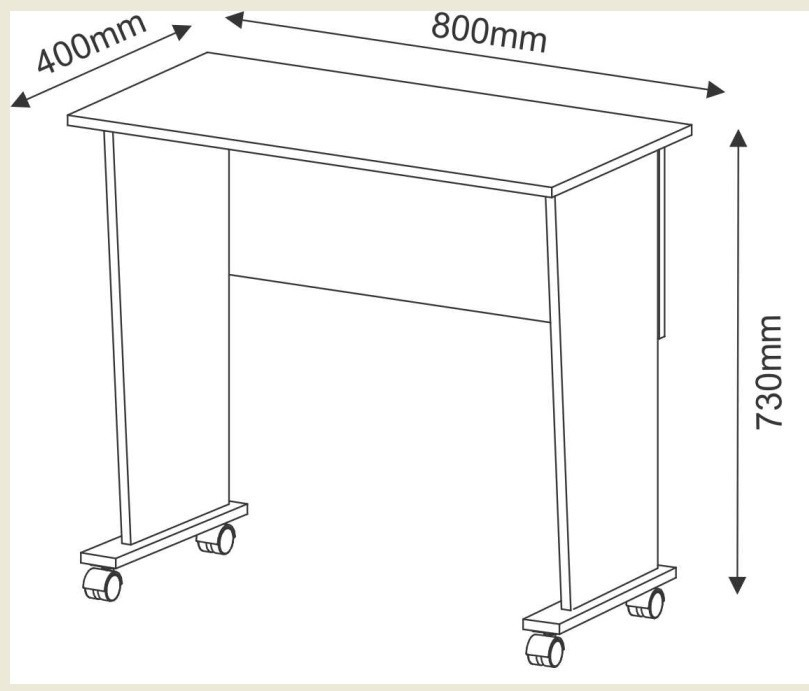 Mesa escritorio plegable auxiliar cocina living dormitorio for Mesa plegable mercado libre