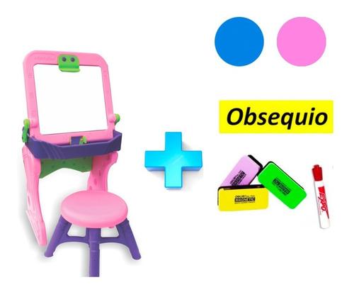 mesa escritorio pupitre tablero infantil +silla niños +obse