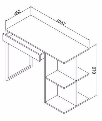 mesa escrivaninha decoremtudo