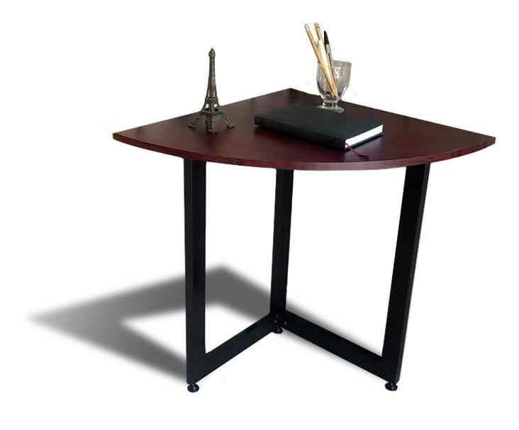mesa esquinera 60x60 plegable bonita versatil oficina