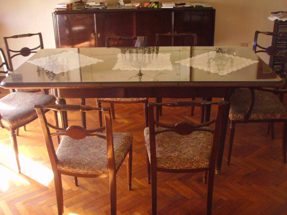 Mesa estilo ingles con 8 sillas en mercado libre - Sillas estilo ingles ...