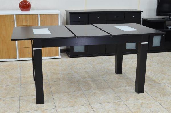 Mesa Extensible Color Negro 160 A 2 Metros Para Comedor - $ 3.700,00 ...