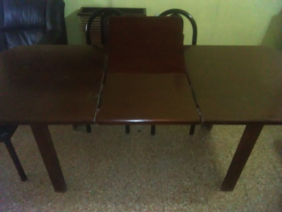 Mesa Extensible Para Comedor De Madera Masisa - $ 4.800,00 en ...