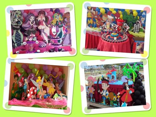 mesa fantasia coco,frozen,equestria girl, pitufos,
