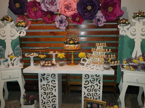 mesa fantasia fiestas