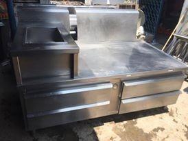 Mesa Fria Para Cocina De Acero Inoxidable - $ 29,000.00 en Mercado Libre