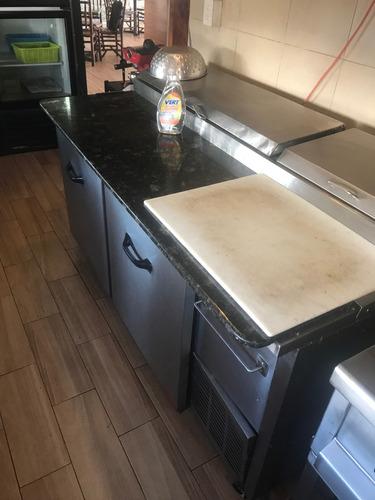 mesa fría torrey y refrigerador torrey