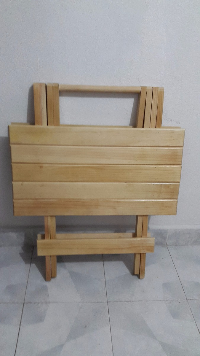 Mesa grande plegable de madera para casa y jard n 350 - Mesa de madera para jardin ...
