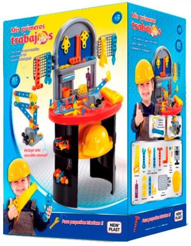 mesa herramienta trabajo taller infantil didactico new plast