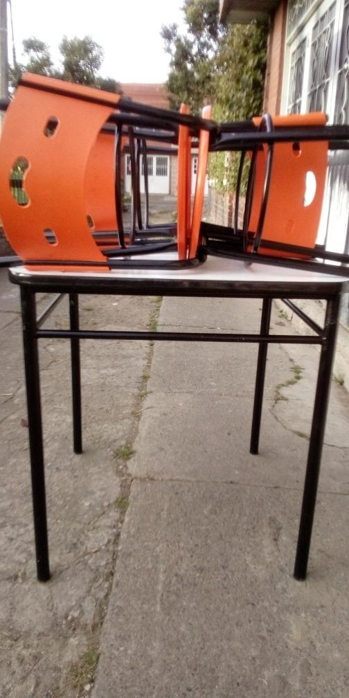 mesa hierro forjado masiso