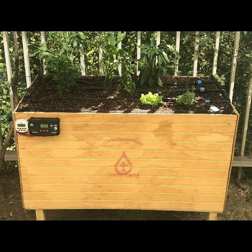 mesa huerto hidroponico