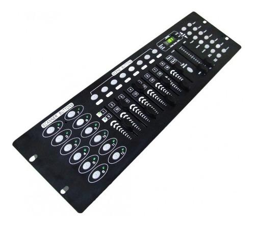 mesa iluminação dmx controladora luz efeitos bivolt cabo 1m