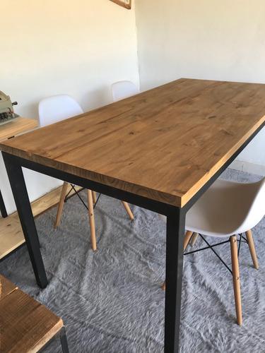 mesa industrial comedor (1.4x0.80x0.78m) envio gratis