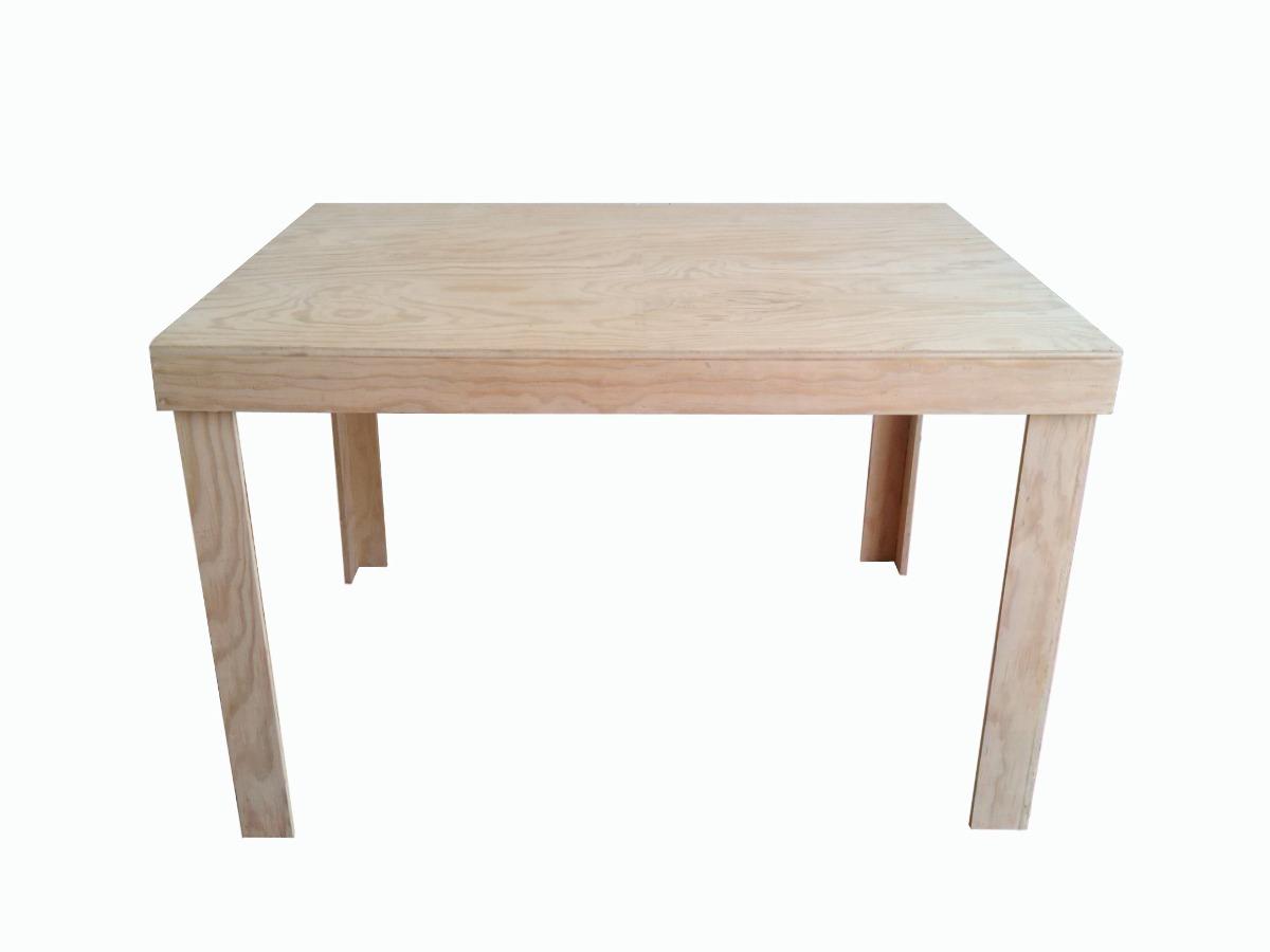 Mesa infantil armable env o gratis madera de pino for Mesas infantiles precios