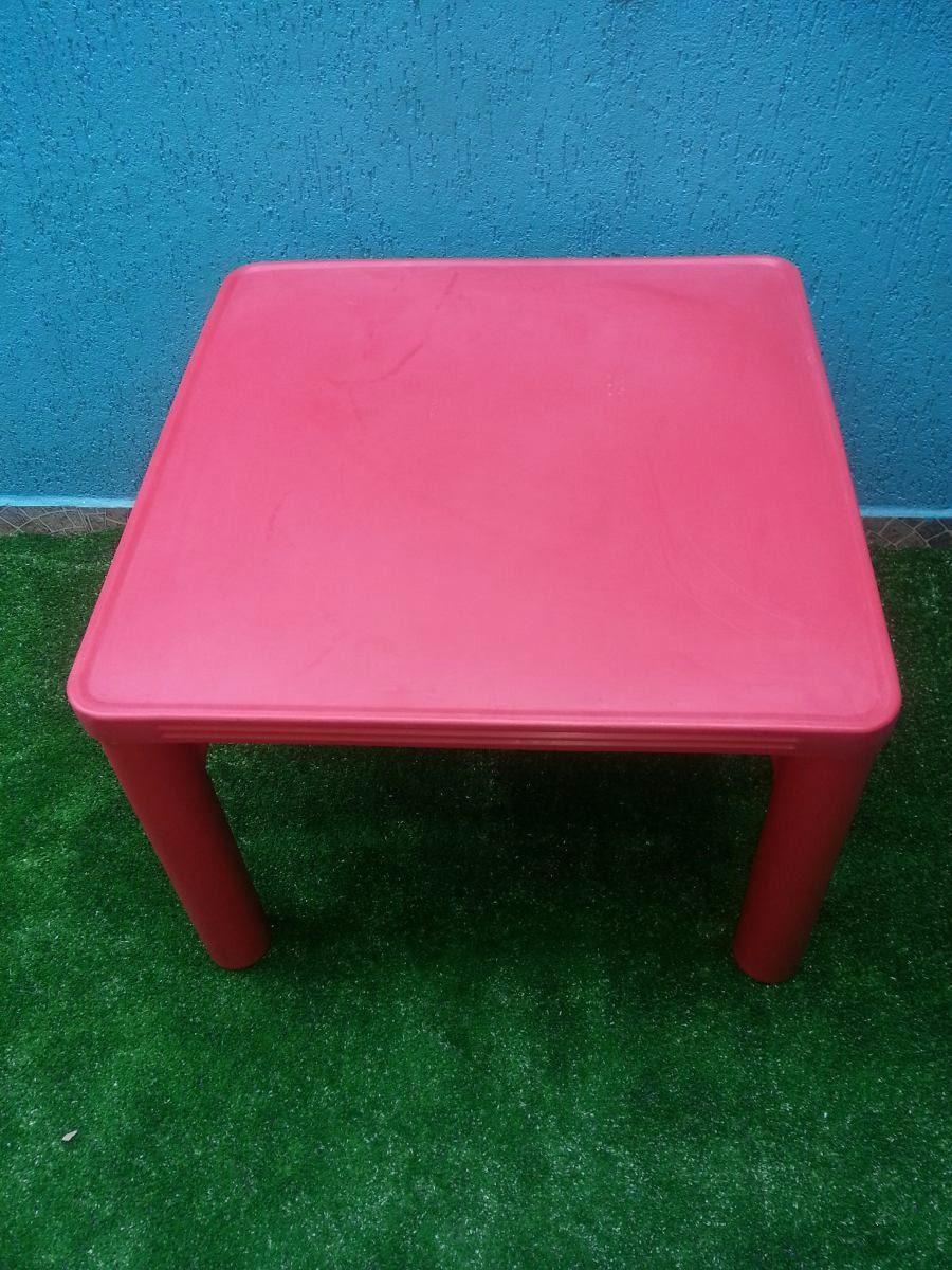 Mesa infantil de plastico com 2 cadeiras para crian as - Mesas para ninos de plastico ...