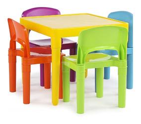 Infantil ColoresSillas Mesa Niños Escolar Remate Plastico tsrCQhd