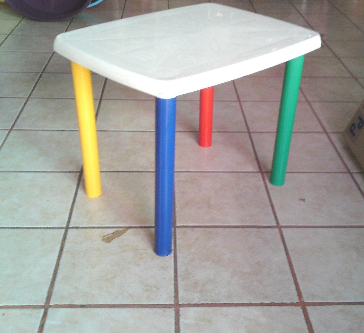 Mesa infantil para ni os sillas de plastico for Mesa y silla infantil