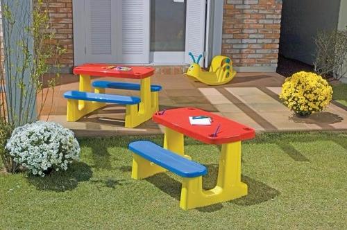 mesa infantil pic nic tramontina