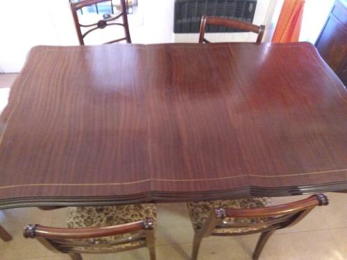 mesa inglesa sheraton