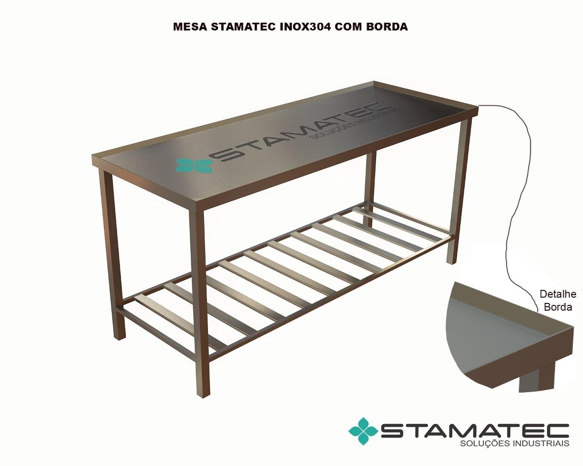 Mesa De Inox Para Cozinha Industrial Pre O Oppenau Info