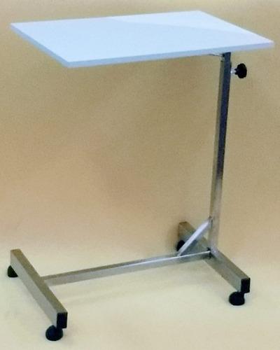 mesa inox de refeição hospitalar