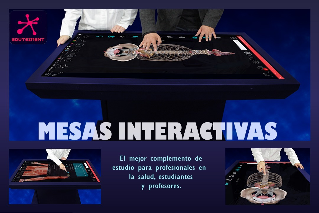 Mesa Interactiva Para El Estudio De Anatomía (multitouch ...