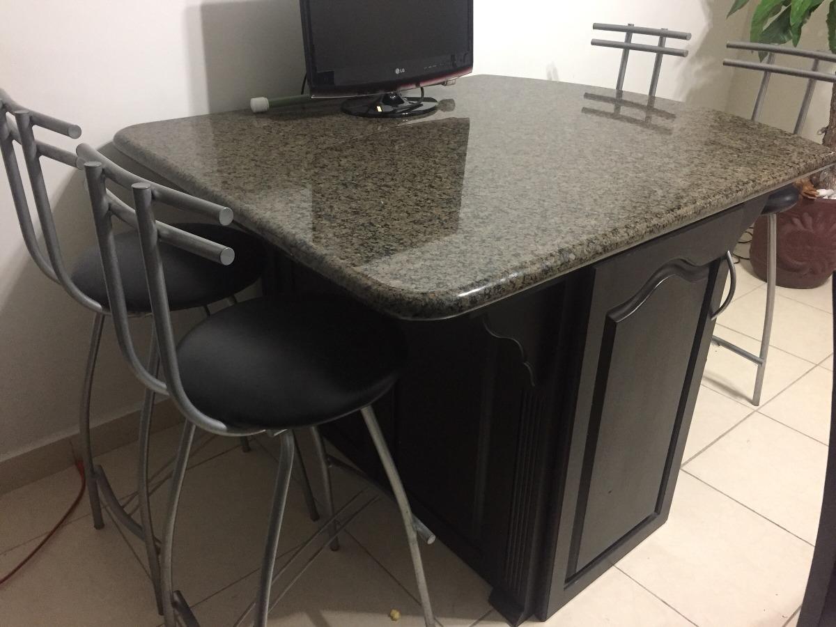 Mesa Isla De Cocina De Granito Y Mármol - $ 14,000.00 en Mercado Libre