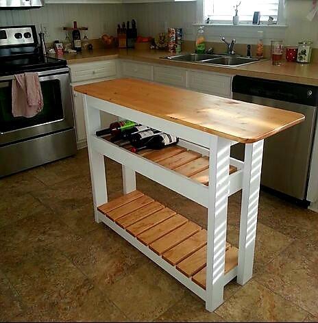 mesa isla para cocina