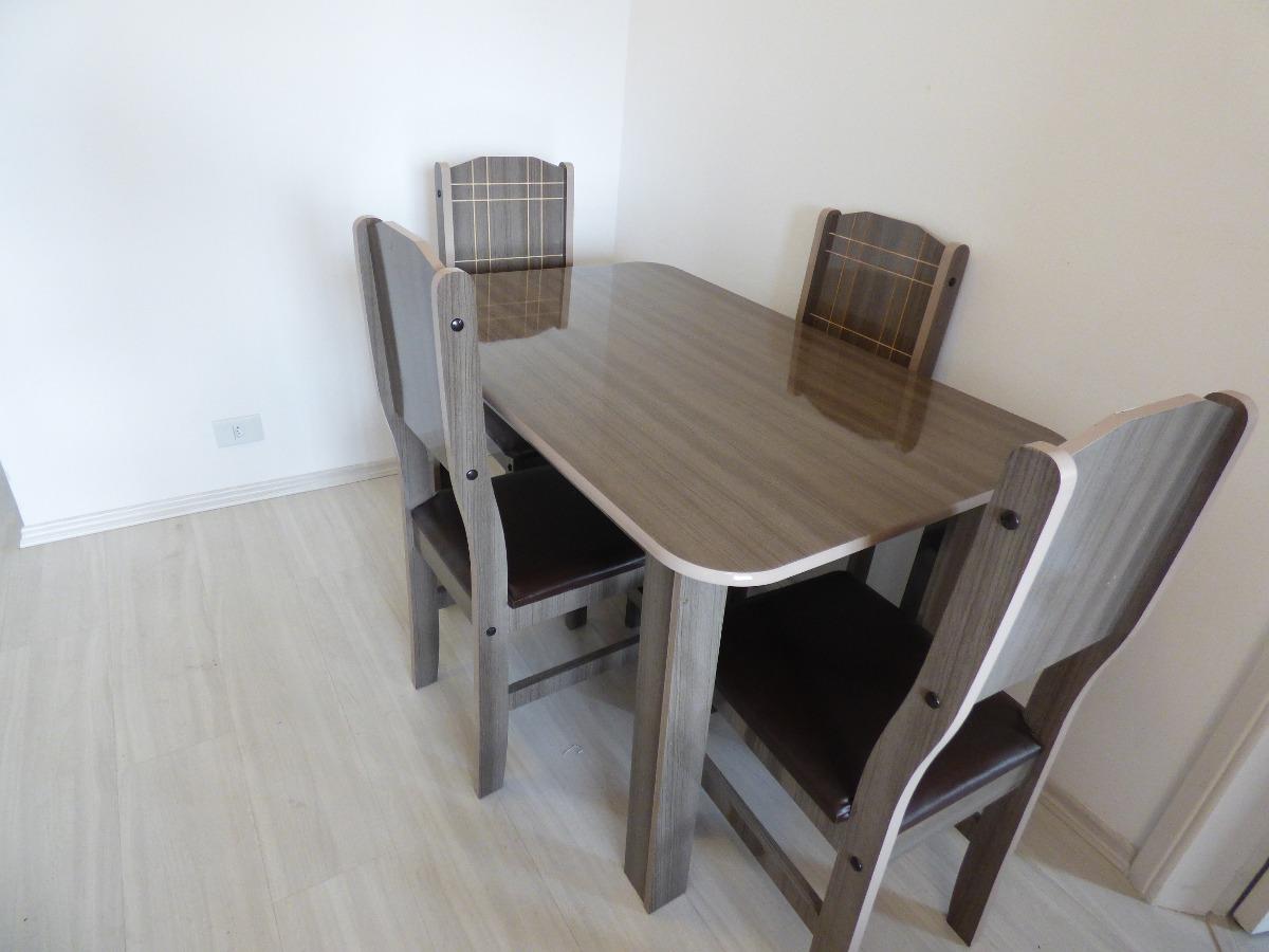 Mesa Jantar 4 Lugares Usada R$ 250 00 em Mercado Livre #685B4F 1200 900