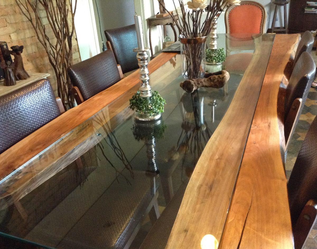 Mesa Jantar De Madeira De Design 10 Lugares ( Sem Vidro) R$ 4.800 00  #9D5F2E 1200x944