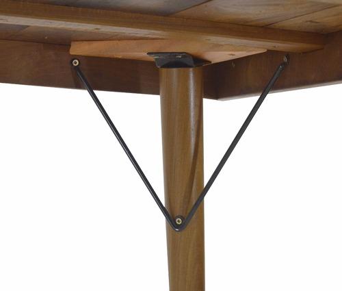 mesa jantar madeira demolição ipê pé palito retrô vintage