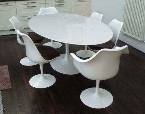 Mesa Saarinen Jantar Oval Nano Glass 1 60 X 0 90 R 3