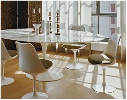 mesa saarinen de jantar oval marmore carrara r em mercado livre. Black Bedroom Furniture Sets. Home Design Ideas