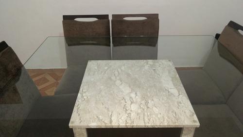 mesa jantar quadra