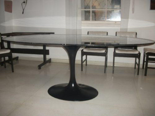 mesa jantar saarinen oval em são gabriel  1,60 x 0,90