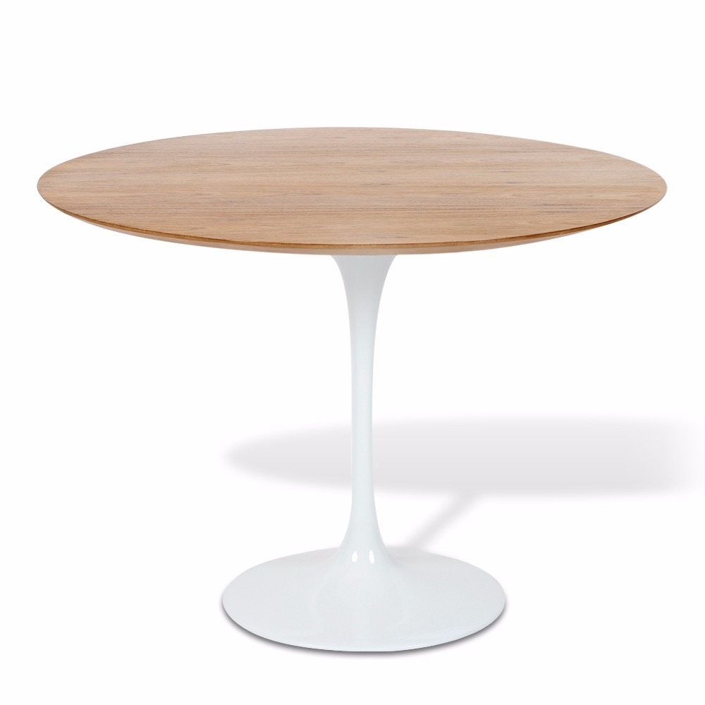 9e37d5873f2 mesa jantar saarinen redonda 100 cm madeira com vidro. Carregando zoom.