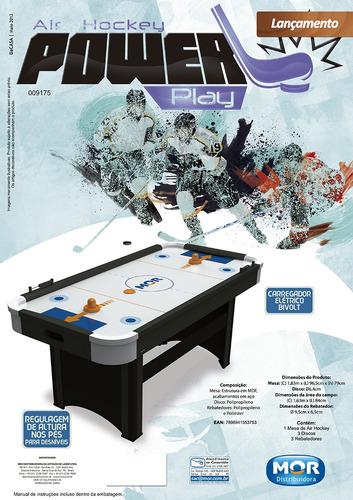 mesa jogo air hockey