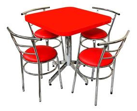 Comedor Restaurante Con Sillas Mesa Ch75 Barato Juego Para 4 IWEDH92